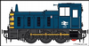 HELJAN 2073 Class 03 un-numbered BR blue / wasps Conical exhaust  *PRE ORDER £335.75 *